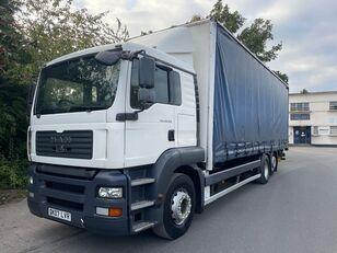 thùng kéo rèm cho xe tải MAN TGA 26.320