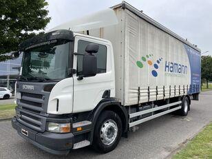 thùng kéo rèm cho xe tải SCANIA P230 P 230 + EURO 4 + LIFT + 8.20 METER BOX