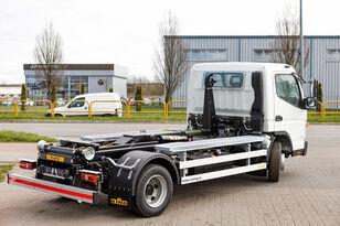 xe chở rác thùng rời Mitsubishi Fuso 9C18 AMT + KING HZ6R Hooklift mới