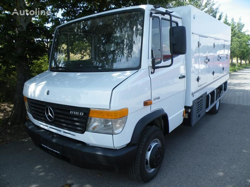 xe tải bán kem MERCEDES-BENZ 616D Eis/Ice -33°C Cold Car BlueTec Euro-5