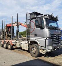 xe tải chở gỗ MERCEDES-BENZ 3263 8x4, big axles, no crane