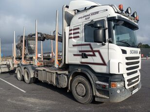xe tải chở gỗ SCANIA R560