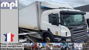 xe tải đông lạnh SCANIA P340 bị hư hại