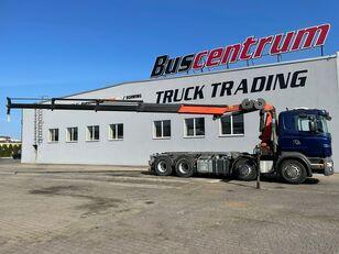 xe tải kéo cáp SCANIA R 480 8x4 Crane Palfinger PK 20002