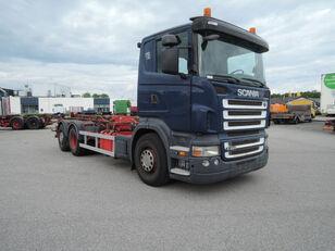 xe tải kéo cáp SCANIA R420
