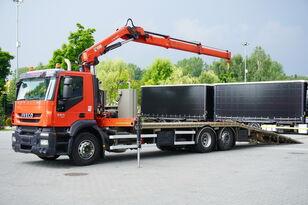 xe tải kéo cứu hộ IVECO Stralis 360, EEV, 6x2, 7.8m tow truck, lift axle , CRANE HIAB ma