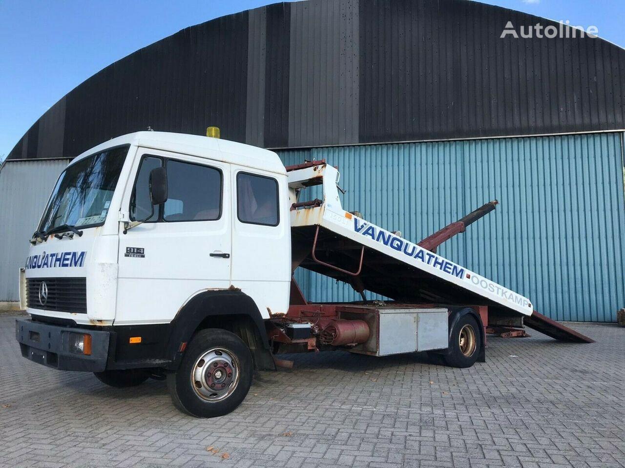 xe tải kéo cứu hộ MERCEDES-BENZ Ecoliner 914  mit ISOLI   Aufbau und Brille