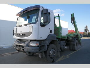 xe tải nâng thùng rác RENAULT ramenový nosič kontejnerů EURO 4