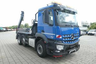 xe tải nâng thùng rác MERCEDES-BENZ Arocs 2543 6x2 Konténeres Meiller felépítmény