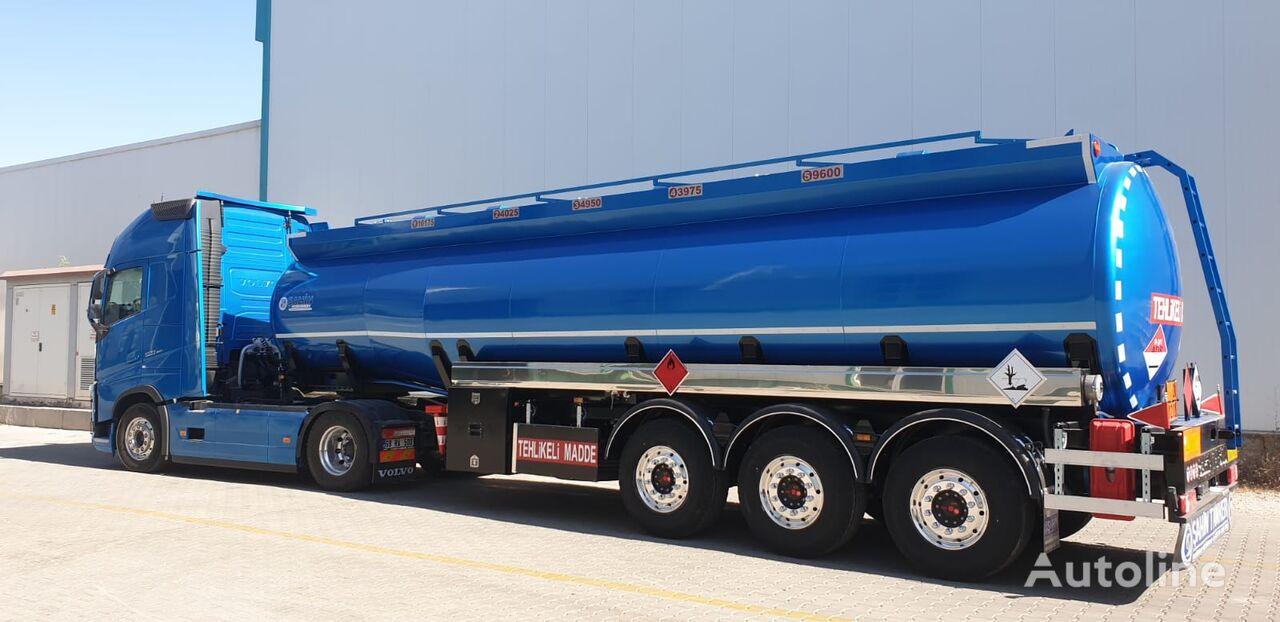 xe tải nhiên liệu SAHIN Benzovoz mới