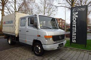 xe tải phủ bạt MERCEDES-BENZ 814D Double Cabin