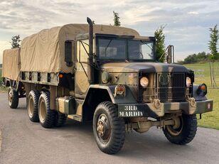 xe tải phủ bạt AM General M35 series + xe rơ moóc kiểu lật