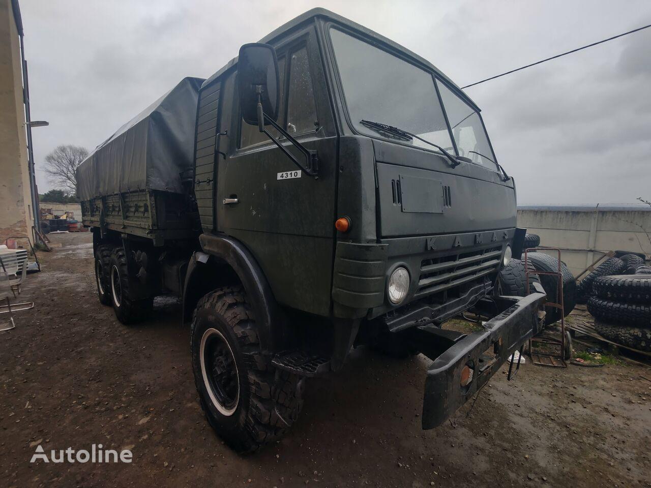 xe tải phủ bạt KAMAZ 4310
