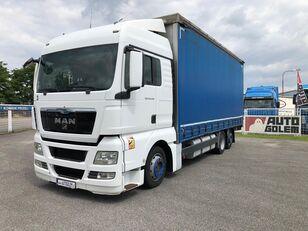 xe tải phủ bạt MAN TGX 24.440 flatbed