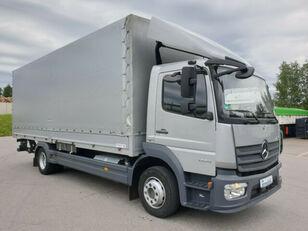 xe tải phủ bạt MERCEDES-BENZ 1224 L Atego Pritsche LBW - silber-neutral  1.H