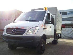 xe tải phủ bạt MERCEDES-BENZ Sprinter 515 cdi 4x4 DOKA P+P