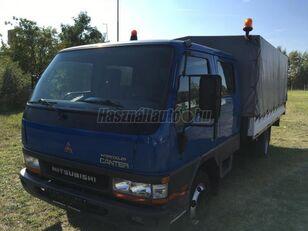 xe tải phủ bạt MITSUBISHI CANTER DOKA P+P 4m-es platóval