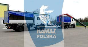 xe tải quân sự KAMAZ 6x6 SERWISOWO-WARSZTATOWY mới