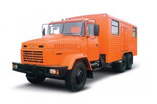 xe tải quân sự KRAZ 65053 мастерская mới