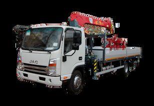 xe tải san phẳng JAC Бортовой автомобиль с КМУ FG-414 mới