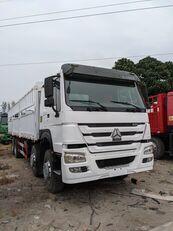 xe tải thùng kín HOWO 336 HP 8x4 Drive Stake Body General Cargo Truck