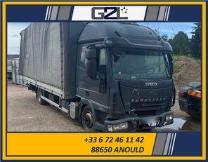 xe tải thùng kín IVECO EUROCARGO 75E18 *ACCIDENTE*DAMAGED*UNFALL* bị hư hại