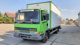 xe tải thùng kín DAF 45.130 Ti 6 Cylinders Euro 2 Spring-Spring
