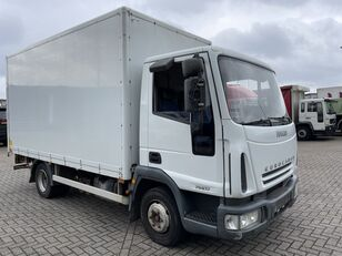 xe tải thùng kín IVECO EuroCargo 75 E17 bakwagen plus laadklep