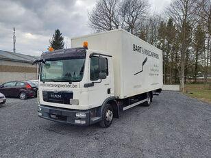 xe tải thùng kín MAN TGL 8.180 taillift/hayon - euro 5 - very good tyres