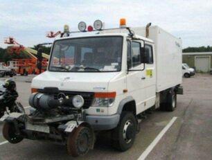 xe tải thùng kín MERCEDES-BENZ 4x4 VARIO Schörling RAIL Two Way SchienenSERVICE