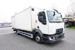 xe tải thùng kín RENAULT D12 , E6 , 4x2 , Box 18 EPAL side door  , tail lift Dhollandia