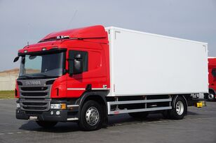 xe tải thùng kín SCANIA P 250  / E 6 / KONTENER / 17 PALET / ŁAD. 9166 KG / MAŁY PRZEBIE