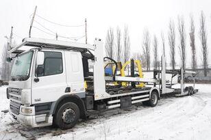 xe tải vận chuyển ô tô DAF CF 75 360 , E5 , 4x2 ,MEGA , LOHR , retarder , sleep cab + rơ moóc vận chuyển xe hơi