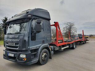 xe tải vận chuyển ô tô IVECO Eurocargo 140E28 + rơ moóc vận chuyển xe hơi