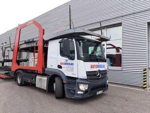 xe tải vận chuyển ô tô MERCEDES-BENZ ACTROS + rơ moóc vận chuyển xe hơi