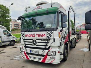 xe tải vận chuyển ô tô MERCEDES-BENZ Actros + Lohr + návěs na přepravu automobilů