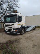 xe tải vận chuyển ô tô SCANIA P400 ASSISTANCE TRUCKS TRANSPORT