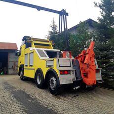 xe tải vận chuyển ô tô VOLVO fh 12 holownik towing truck