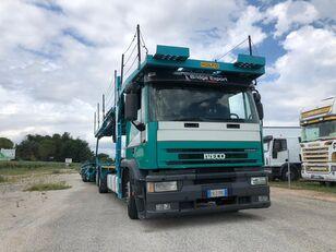 xe tải vận chuyển ô tô IVECO EUROTECH bisarca veicoli + biga Rolfo