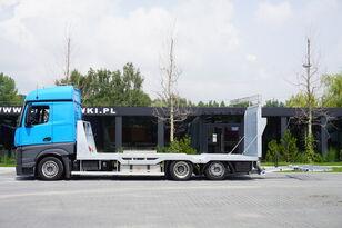 xe tải vận chuyển ô tô MERCEDES-BENZ Actros 2542 , E6 , MEGA , NEW BODY , car tow 10T , hydraulic ram