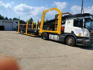 xe tải vận chuyển ô tô SCANIA Eurolohr + rơ moóc vận chuyển xe hơi